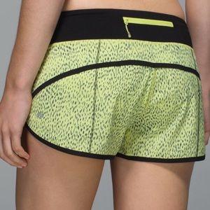Lululemon a speed Shorts